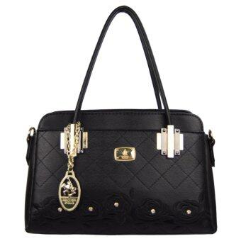 Harga British Polo Elegant Handbag Black (PL61136-01)