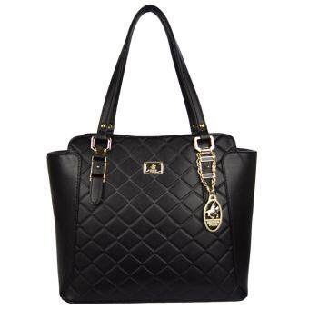 Harga 100% Original British Polo Summer Sale Elegant handbag Black (PL61120-01)