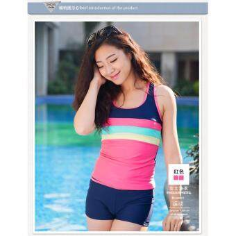 Harga 860244SWPC Ready Stock Korean Fashion Swim Suit 2pcs Sets