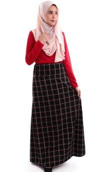Harga JF Fashion Alfa Printed Skirt M375 (B)