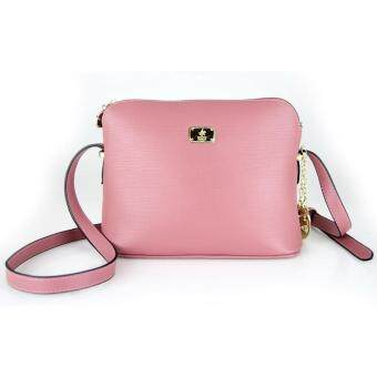 Harga British Polo Colourful Women Sling Bag(Pink)
