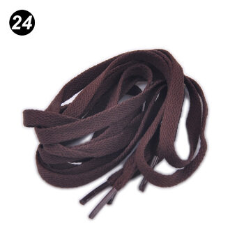 Harga Dark Brown Athletic Shoe Laces Shoelaces BOOTLACES strings for Sneakers boot