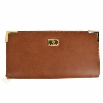 Harga 100% Original British Polo Classic Purse Brown (WP60817-02)