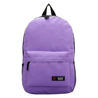 Harga SoKaNo Trendz Japanese Style Nylon Backpack (Purple)