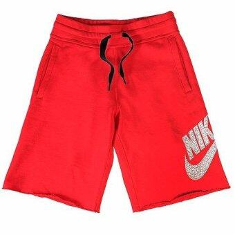 Harga NIKE AW77 ALUMNI SHORTS RED/WHITE