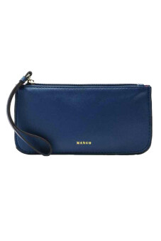 Harga Mango Basic Wristlet Clutch ( Blue )
