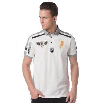 Harga Polo Haus - Polo Tee (White/Grey)