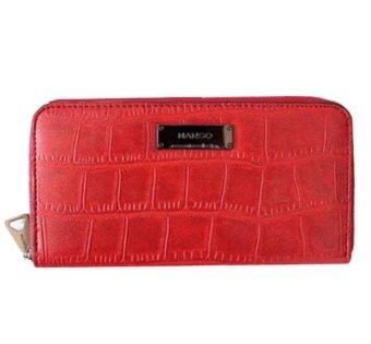 Harga Mango Classy Croc Effect Purse/Wallet (Red)