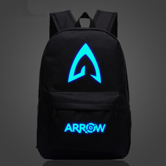Harga Green Arrow superhero backpack schoolbag Noctilucent