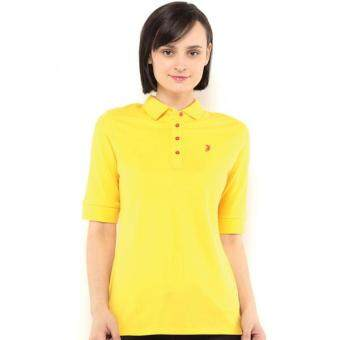 Harga Polo Haus - Quarter Sleeve Polo Tee (Yellow)