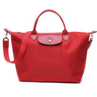 Harga Longchamp Le Pliage Neo 1512 Small (Red)