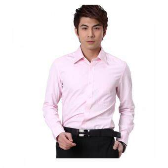 Harga G2000 Long Sleeve Regular Fit Men (Pink)