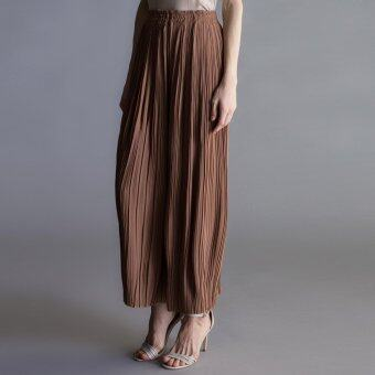 Harga MC Vogue Brown Pleated Trousers