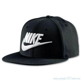 Harga Nike Graphic Futura True 2 Snapback Hat 100% wool Black/White