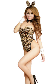 Harga Jetting Buy Sexy Lingerie Bunny Girl Costume Fancy Dress Leopard