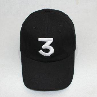 Harga Popular Singer Chance The Rapper Chance 3 Cap Black Letter Embroidery Baseball Cap Hip Hop Hip-hop Snapback Gorras Casquette