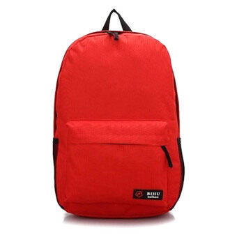 Harga SoKaNo Trendz Japanese Style Nylon Backpack (Red)