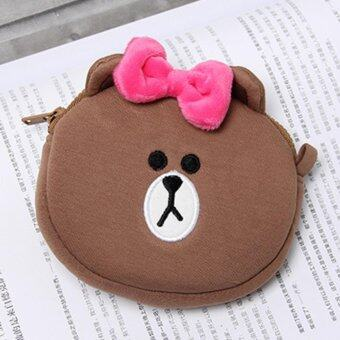 Harga Line Friends Choco Coin Pouch Coin Wallet Coin Purse