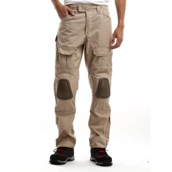 Harga Black Hammer Tactical Pants With Knee Pad Protection (Beige)