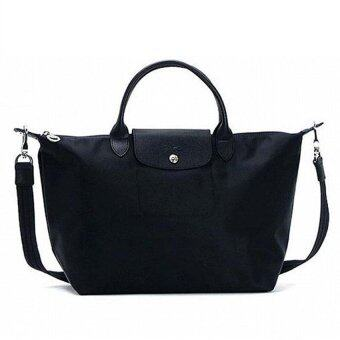 Harga Longchamp Medium Le Pliage Neo 1515578 (Black)
