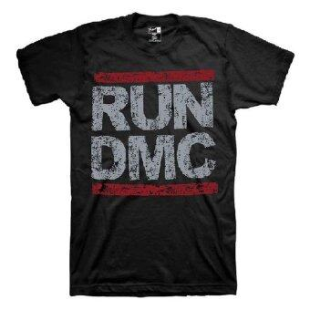 Harga Bravado Run DMC Grunge Logo T Shirt (Black)