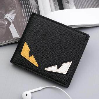 Harga Korean Style Men Teenagers Little Monster Casual Short Wallet