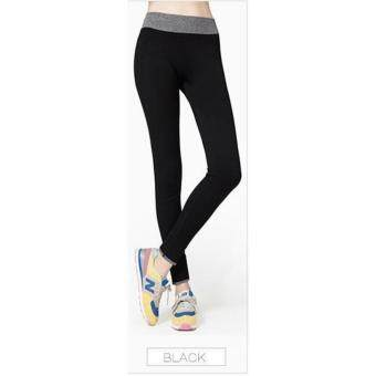 Harga High Quality Women Yoga Pant, Sport, Zumba, Fitness Gym Stretch Pant Trouser, Exercise, Jog, Legging (Black)