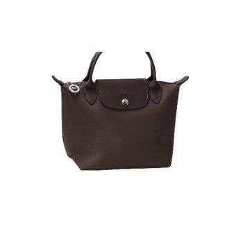 Harga Longchamp Planetes Short Handle Small LC014A (Brown)