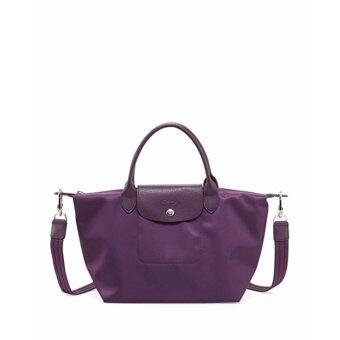 Harga Longchamp Women's Le Pliage Neo Handbag,Violet,100% authentic guarantee
