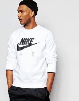 Harga NIKE CREW NECK SWEAT IN WHITE