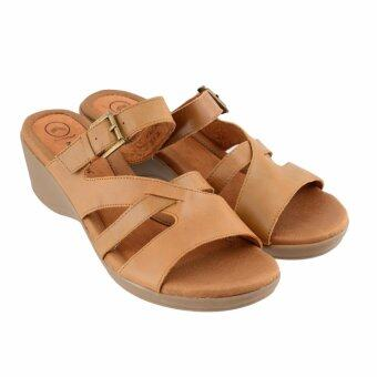 Harga Hush Puppies KYM SLIP ON SANDALS (Camel)