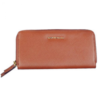 Harga MANGO Touch Long Wallet (Brown)