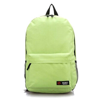 Harga SoKaNo Trendz Japanese Style Nylon Backpack (Green)