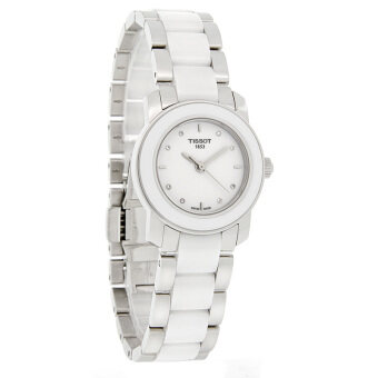 Harga Tissot T Women's White Stainless Steel T64.210.22.016.00 (Int: One size)