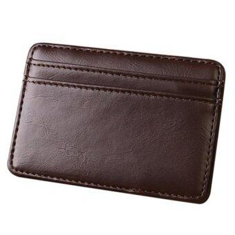 Harga Stable Magic Money Clip Wallet Leather (Dark Brown)