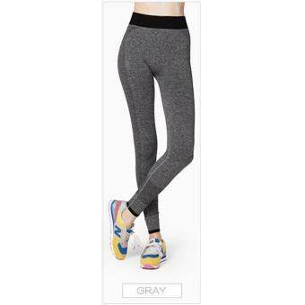 Harga High Quality Women Yoga Pant, Sport, Zumba, Fitness Gym Stretch Pant Trouser, Exercise, Jog, Legging (Grey)