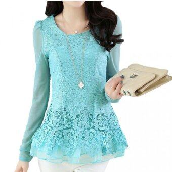 Harga Han edition long sweet lace shirt