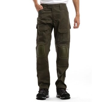 Harga Black Hammer Tactical Pants With Knee Pad Protection (Khaki)