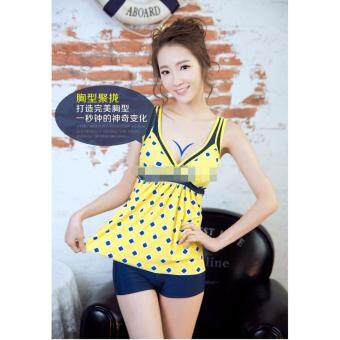 Harga 860140SWPC [Ready Stock Fast Delivery] Korean Fashion Swim Suit 2pcs Sets