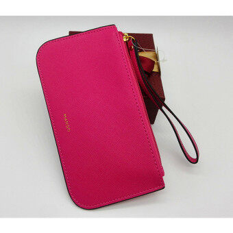 Harga Mango PU Leather Wristlets (Pink)
