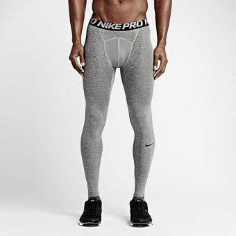 Harga NIKE MEN PRO TIGHT CARBON GREY 703098-091 S-2XL 01'