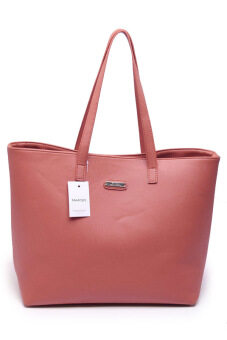 Harga Mango Leather Bag (Brown)