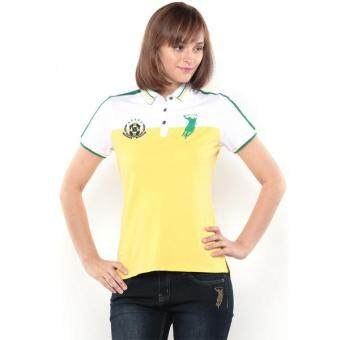 Harga Polo Haus - Polo Tee-Brazil (Yellow/Green)