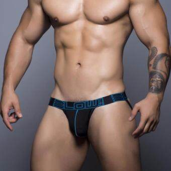 Harga ANDREW CHRISTIAN BLOW! COTTON STRETCH JOCK (Color BLACK)