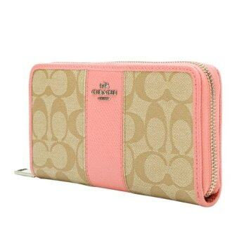 Harga Coach Long wallet - Pink