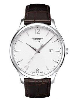 Harga Tissot Men's Brown Leather Strap Watch T063.610.16.037.00