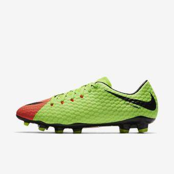 Harga NIKE MEN HYPERVENOM PHELON 3 FG FOOTBALL SHOE ELECTRIC GREEN 852556-308 US7-11 02'