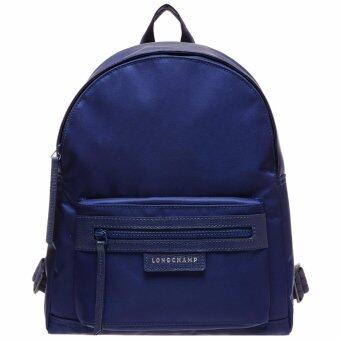 Harga Authentic Longchamp le pliage neo backpack(Blue)