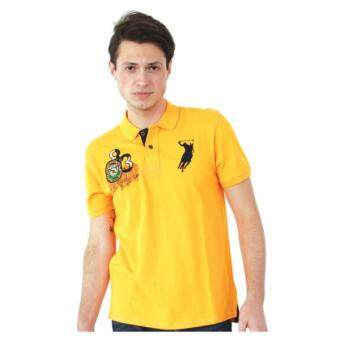 Harga Polo Haus - Polo Collar Knit Wear (Yellow)