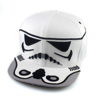 Harga Star Wars Hip Hop Cap Storm Trooper - White